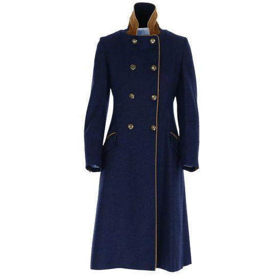 The Coat - Royal Navy Blue - Crofton & Hall