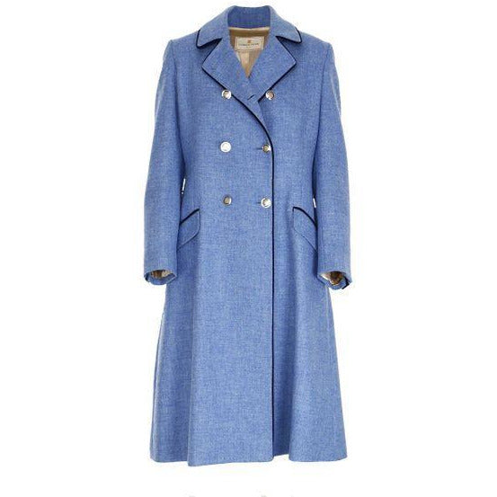 The Coat - Powder Blue - Crofton & Hall