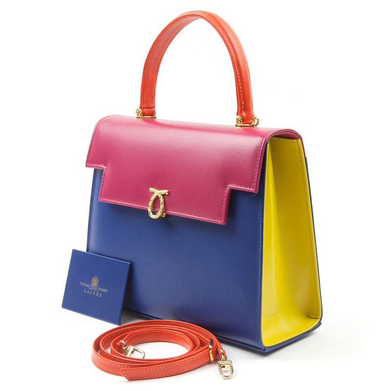 Traviata Luxury Handbag in Multi Colour - croftonandhall