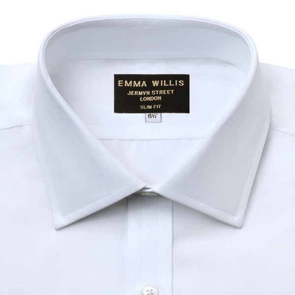 White Superior Cotton Shirt - croftonandhall