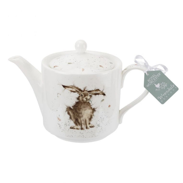 Wrendale Hare 2 Pint Teapot by Royal Worcester - croftonandhall