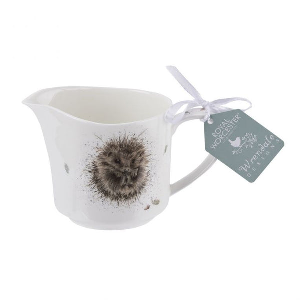 Wrendale Design Hedgehog Cream Jug by Royal Worcester - croftonandhall