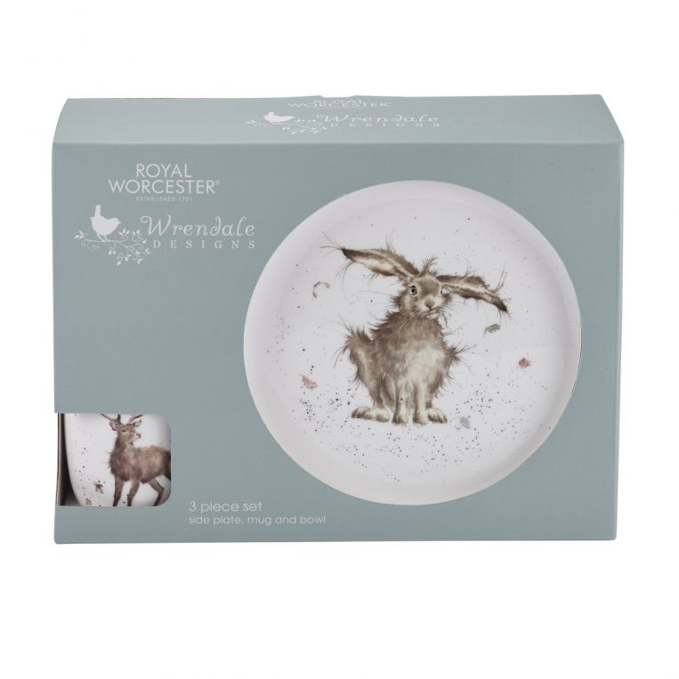Wrendale Design 3 Piece Set by Royal Worcester - croftonandhall