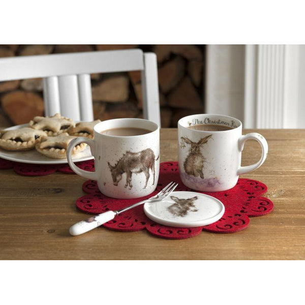 Wrendale Donkey Mug and Coaster - croftonandhall