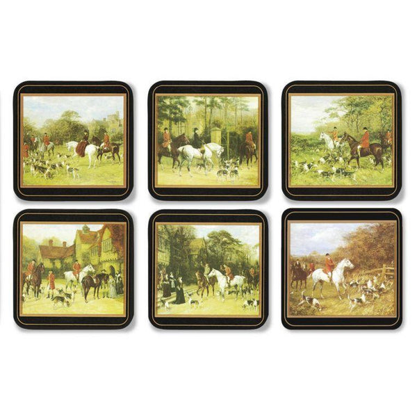 Tally Ho Set of 6 Coasters - croftonandhall