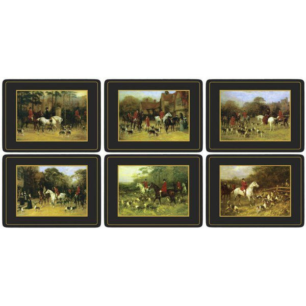 Tally Ho Placemats Set of 6 - croftonandhall