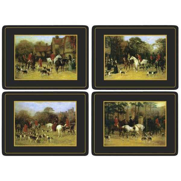 Tally Ho Set of 4 Placemats - croftonandhall