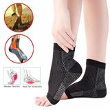 MEDITICA™ COPPER INFUSED MAGNETIC FOOT SUPPORT COMPRESSION - (1 PAIR)