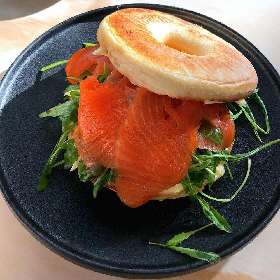 Bagel -Salmon and Cream Cheese