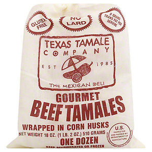 12 Beef Tamales
