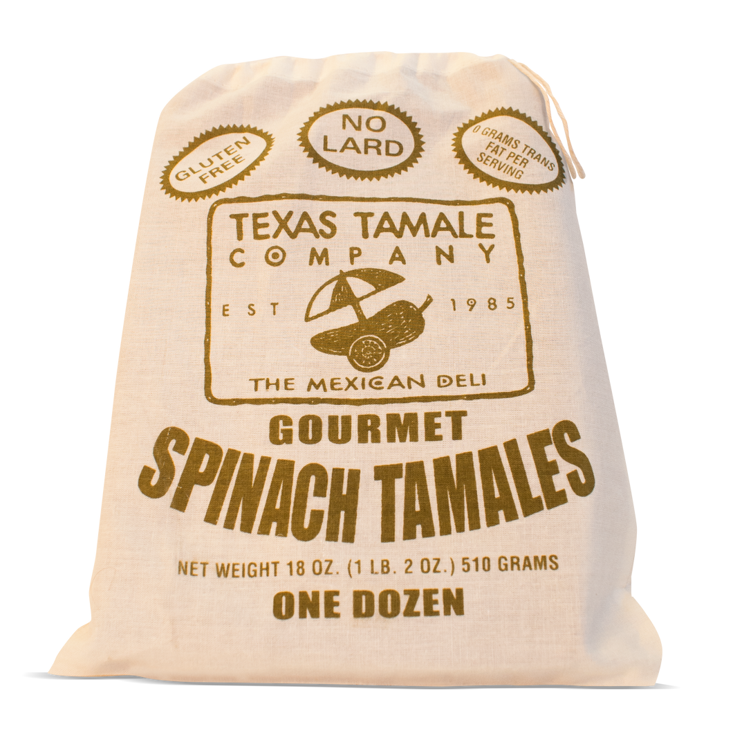 12 Spinach Tamales