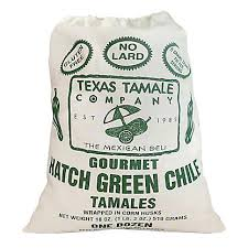 12 Hatch Chile Tamales