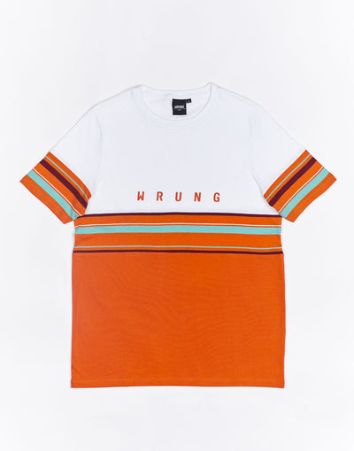 Wrung Mid Stripes orange