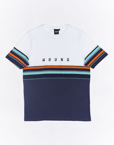 Wrung Mid Stripes blanc
