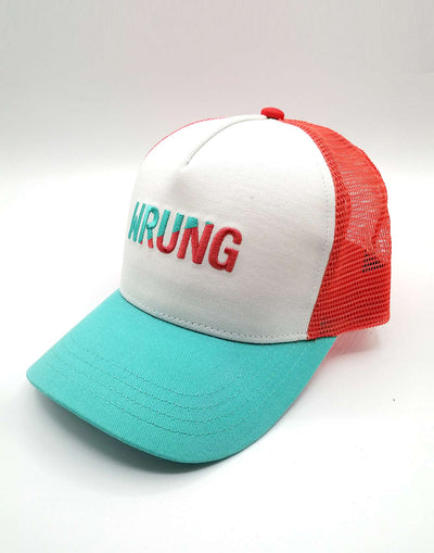 Wrung Blue cut orange