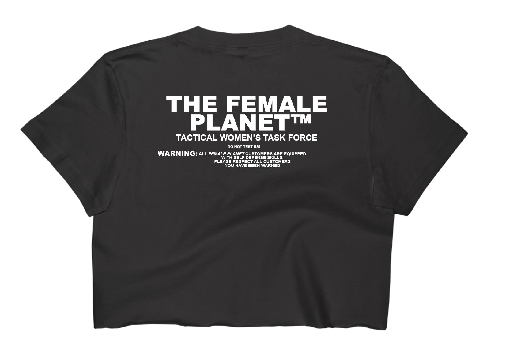 The Female Planet™ Crop Tee