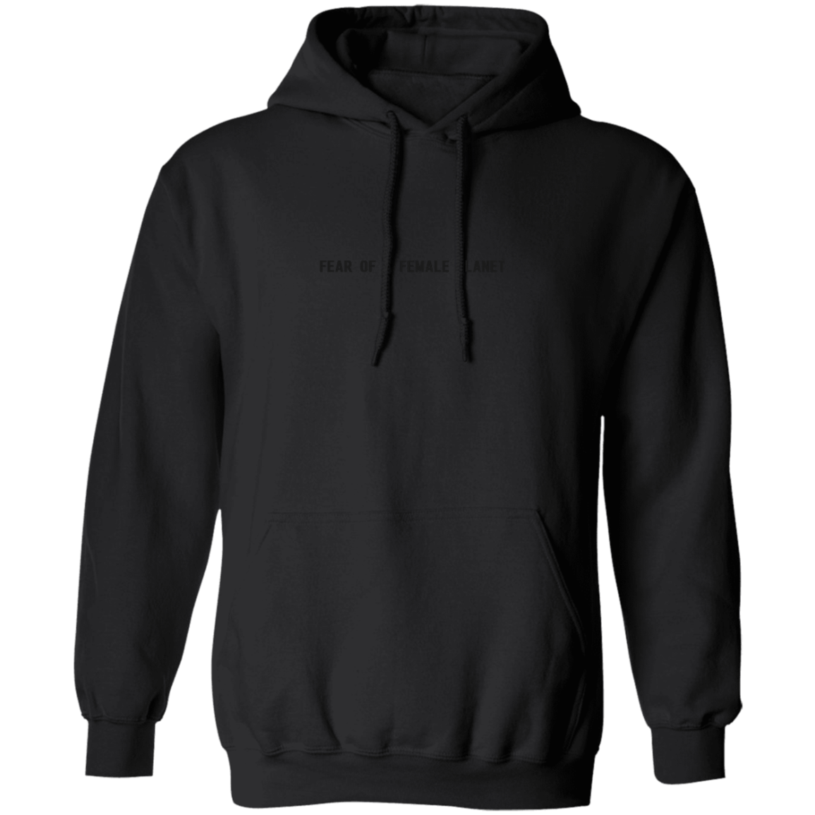 Blacked Out Pullover Hoodie