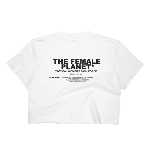Women's Tactical Force Crop Tee