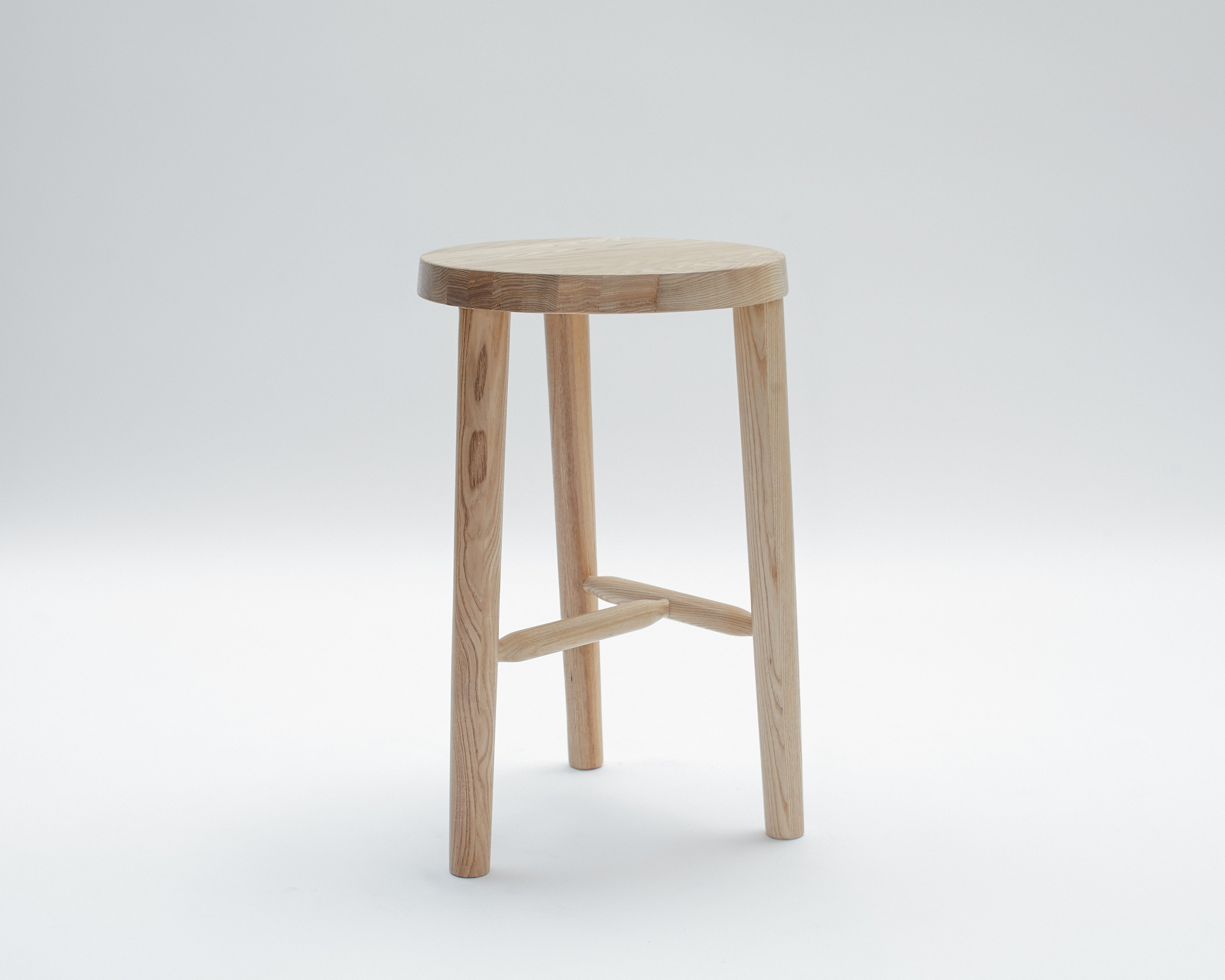 Milking Stool- Counter Height Three Legged