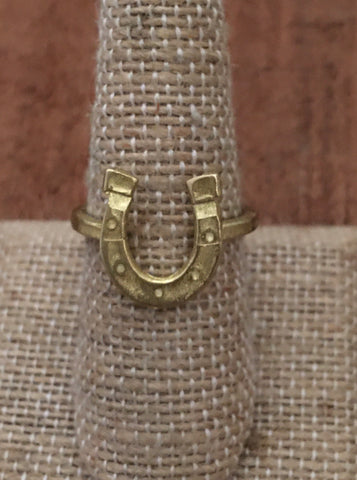 Lucky Horseshoe ring