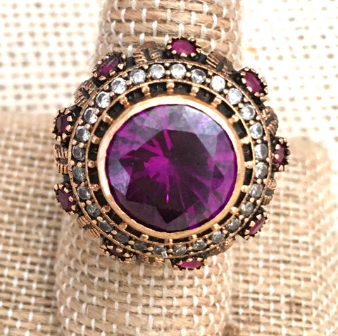 Royal purple ring