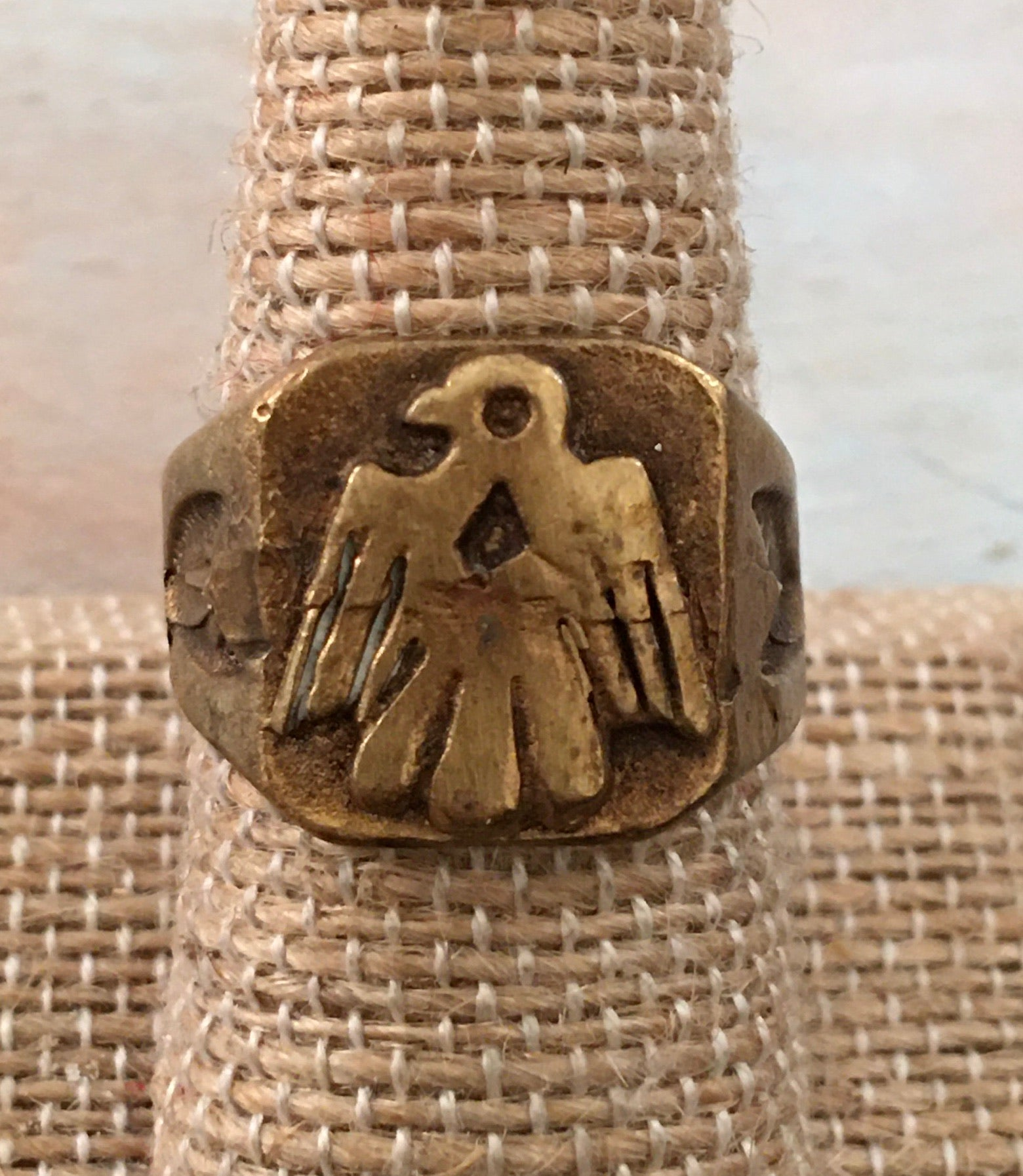 Magical Thunderbird ring