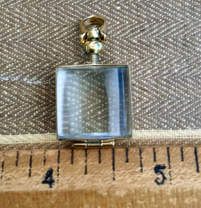 Mini square locket