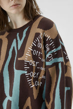 Load image into Gallery viewer, Speedometer Knit Sweater