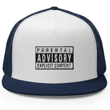 Load image into Gallery viewer, Explicit Content 5 Panel Cap