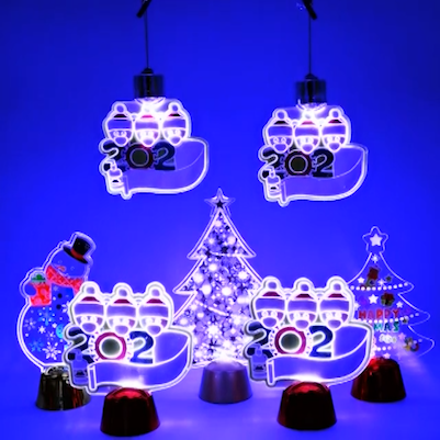 LED Christmas Decorations with DIY  Family 2020