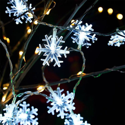 Snowflakes LED String Lights - Bring Snowflakes Home!-Next Deal Shop-Next Deal Shop