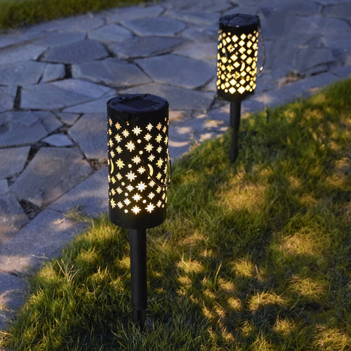 Solar-Powered Iron Starry Stake Light-Next Deal Shop-Next Deal Shop