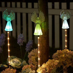 Solar-Powered LED Angel Light-Next Deal Shop-Next Deal Shop
