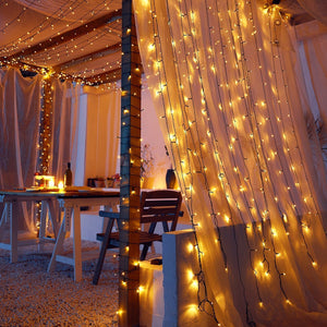 Solar-Powered LED Fairy Lights-Next Deal Shop-Warm-White-200 LED-Next Deal Shop