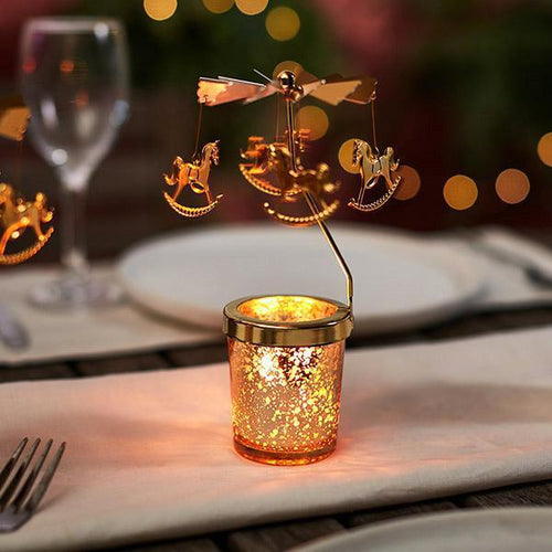Spinning Carousel Candle Holder-Next Deal Shop-Next Deal Shop