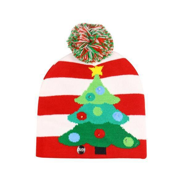 Ugly Christmas LED Beanie-Next Deal Shop-Xmas Tree-Next Deal Shop