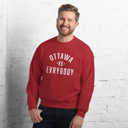 Ottawa Vs Evrybody Sweatshirt - yegco