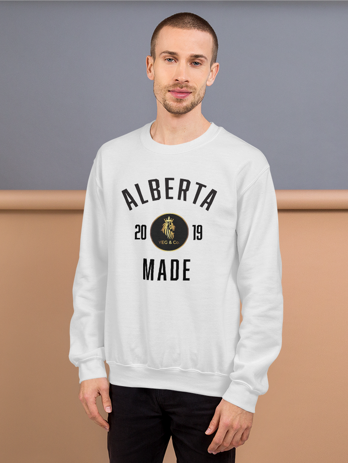Alberta Made Sweatshirt - yegco