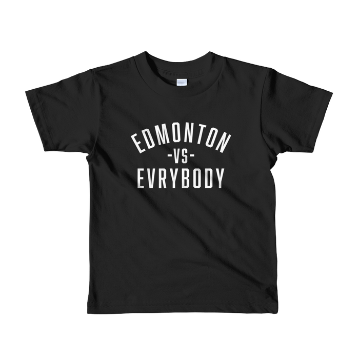 Edmonton Vs. Evrybody Kids T-Shirt - yegco