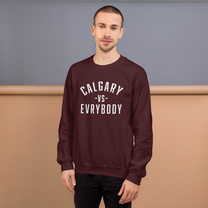 Calgary Vs Evrybody Sweatshirt - yegco
