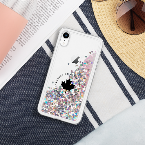 Edmonton Vs Evrybody Liquid Glitter Phone Case - yegco