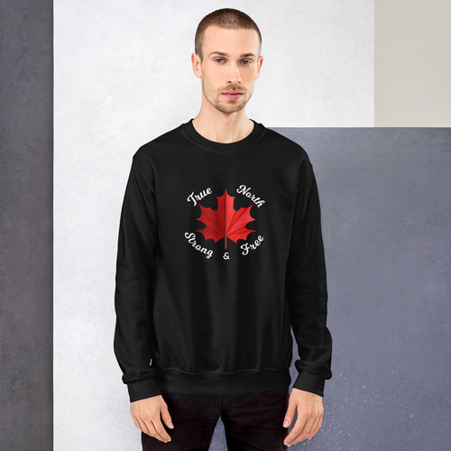 True North Strong & Free Sweatshirt - yegco