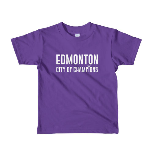 Edmonton | City of Champions Kids T-Shirt - yegco
