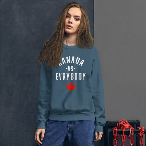 Canada Vs Evrybody Sweatshirt - yegco