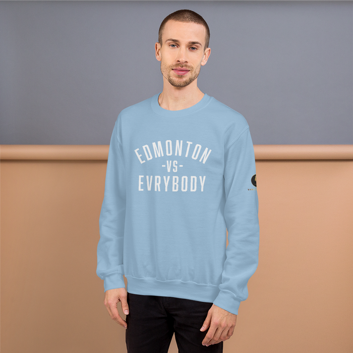 Edmonton vs. Evrybody Sweatshirt - yegco