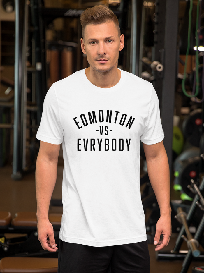 Edmonton Vs. Evrybody T-Shirt - yegco