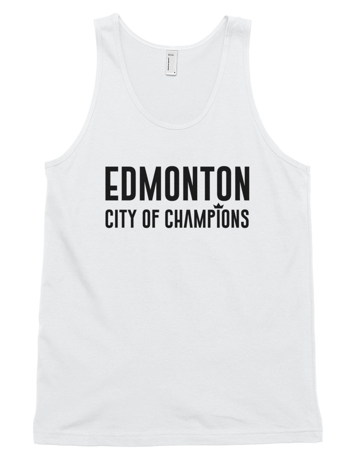 Edmonton City of Champions Tank Top - yegco