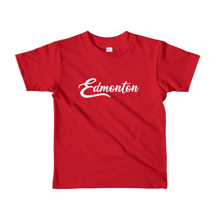 Edmonton Kids T-Shirt - Yeg & Co