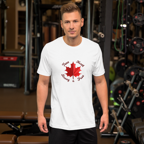True North Strong & Free T-Shirt - yegco