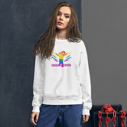 Enough is Enough Unisex Sweatshirt - yegco